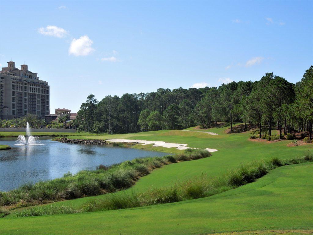 Tranquilo Golf Club at Four Seasons Resort in Orlando Fl - FlyGolf